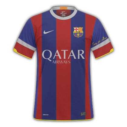 FC BARCELONA HOME 14-15