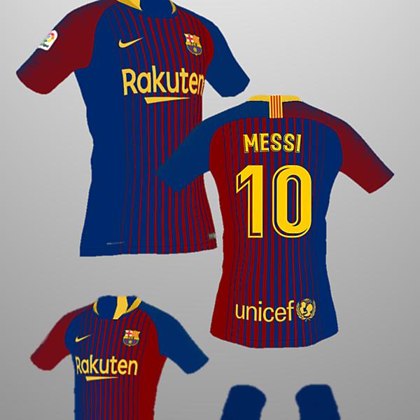 FC Barcelona Home Kit