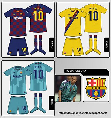 FC Barcelona kit predictions