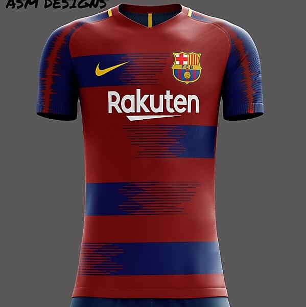 FC Barcelona Nike 2019 Home Kit