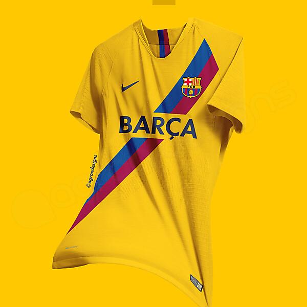 Fc Barcelona Sash Kit Concept