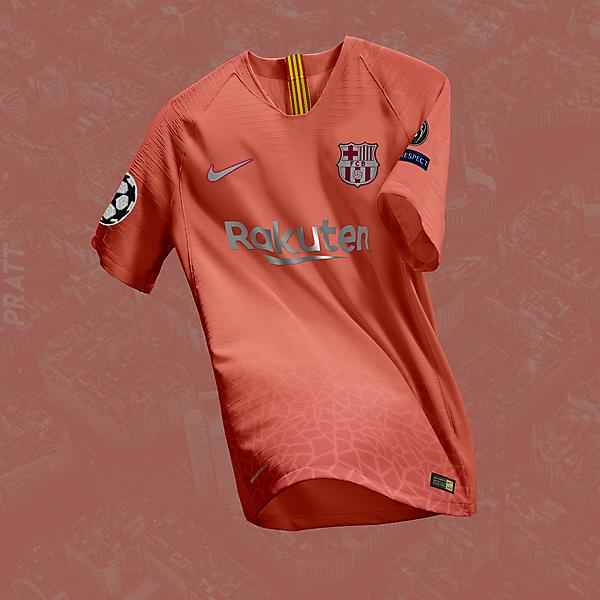FC Barcelona Third Concept Kit
