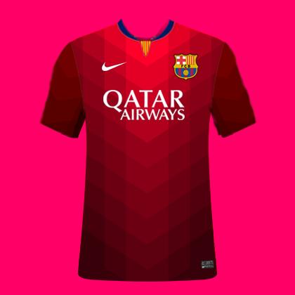 FC Barcelona Third Kit 15/16
