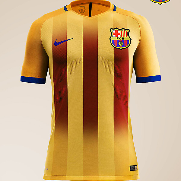 FC Barcelone - Nike Away