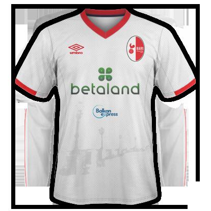 FC Bari Kit sponsor disposition 1