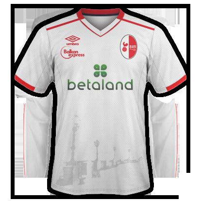FC Bari Kit sponsor disposition 2