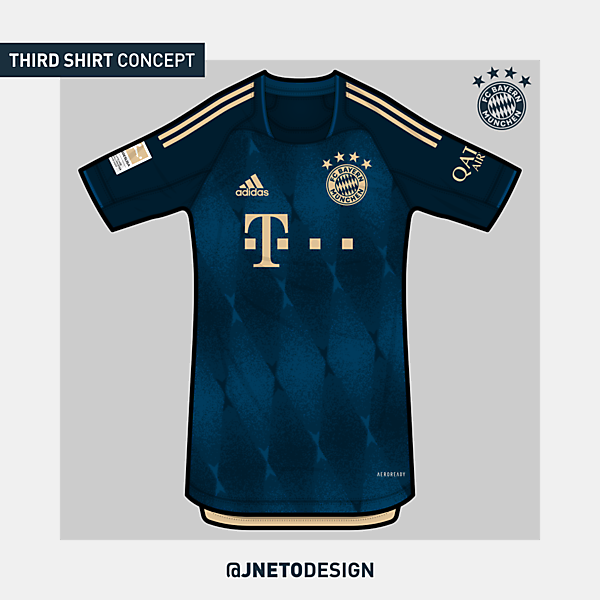FC Bayern | third shirt concept |  @jnetodesign