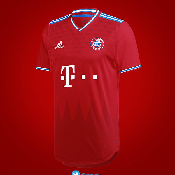 FC Bayern München - Home Kit 2020/21