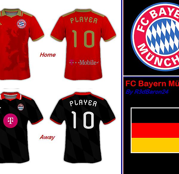 FC Bayern München Kits