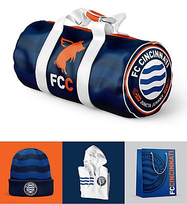 FC Cincinnati Brand Executions