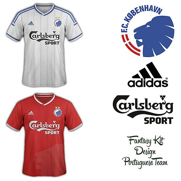 FC Copenhagen Home and Away Fantasy Kit 2014/2015