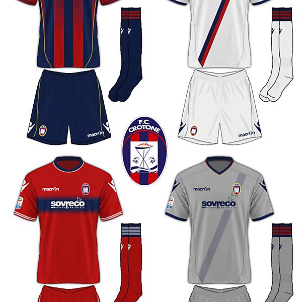 FC Crotone Macron
