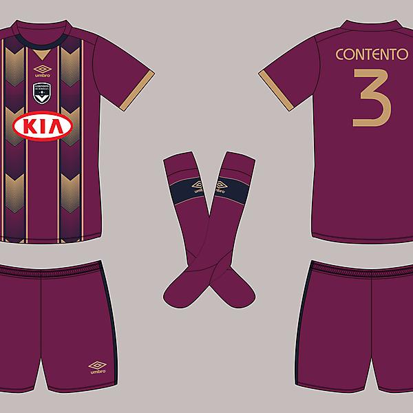 FC Girondins de Bordeaux - Umbro - 3rd shirt