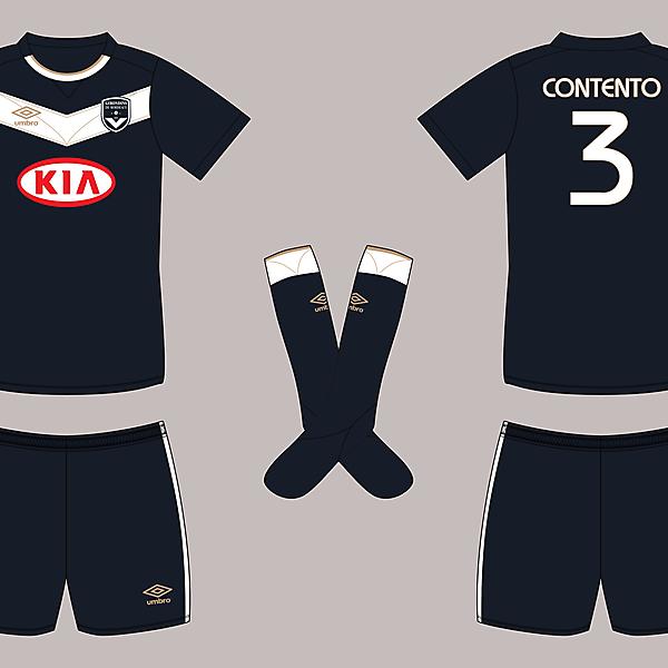 FC Girondins de Bordeaux - Umbro - Home shirt