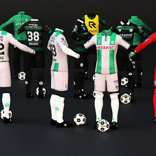 FC Groningen Robey Kit 2015-2016