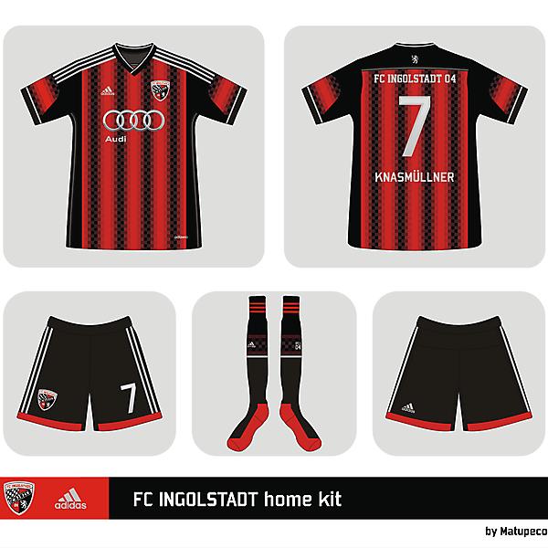 FC Ingolstadt 04 adidas home shirt