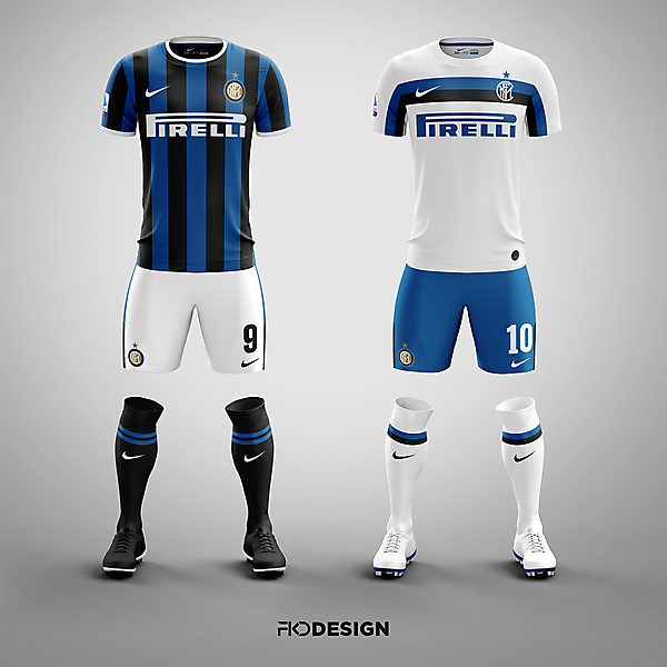 FC Inter | Nike | Home & Away