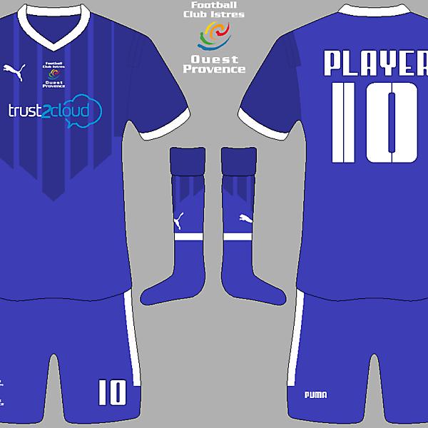 FC Istres Home Kit v2