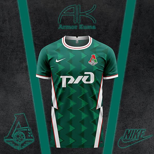 FC Lokomotiv Moscow Nike Home Kit