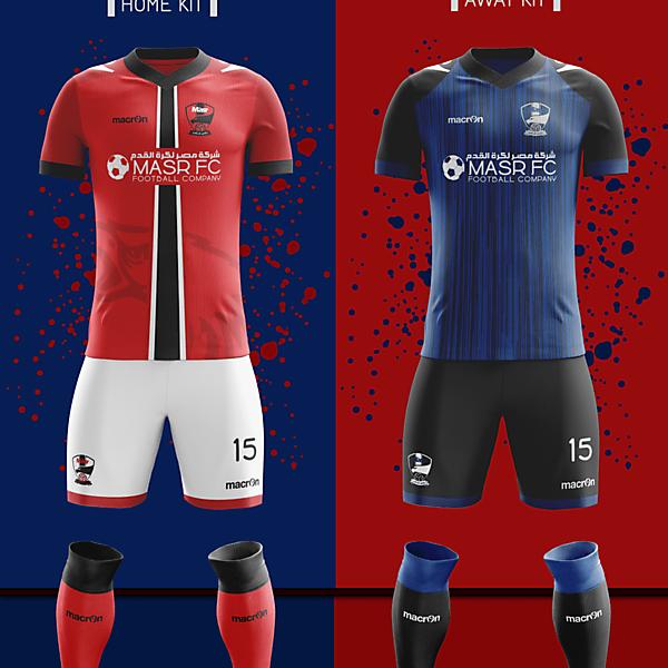 FC MASR Macron Fantasy kits 2016-2017 ..
