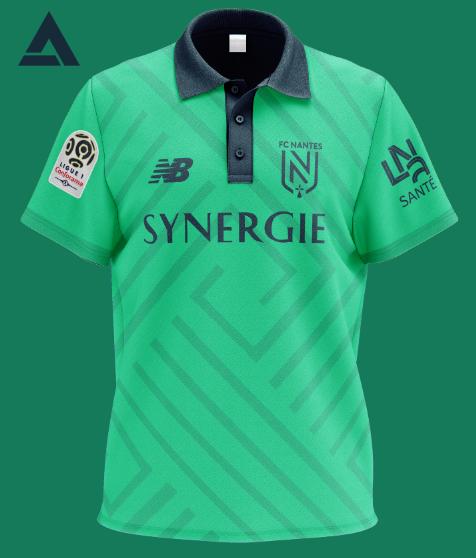 FC Nantes 2021 Alternate Kit