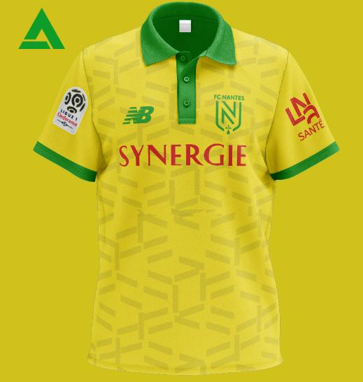 FC Nantes 2021 Home Kit