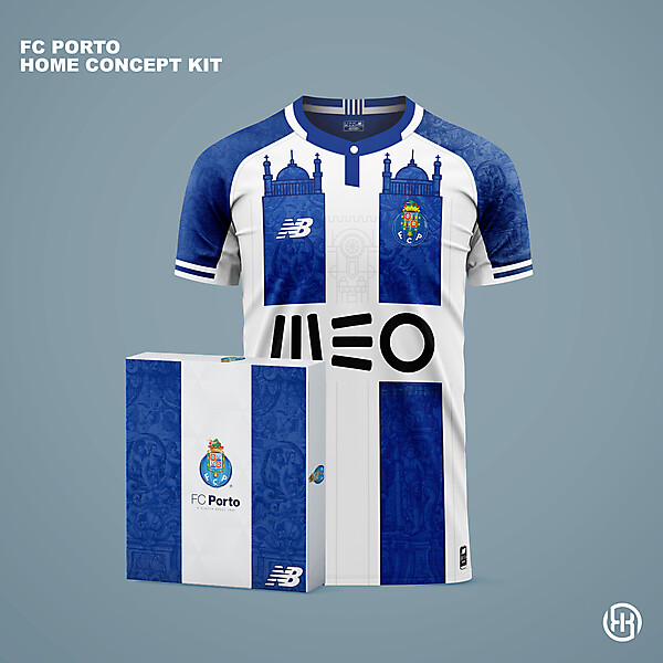 FC Porto | Home kit concept