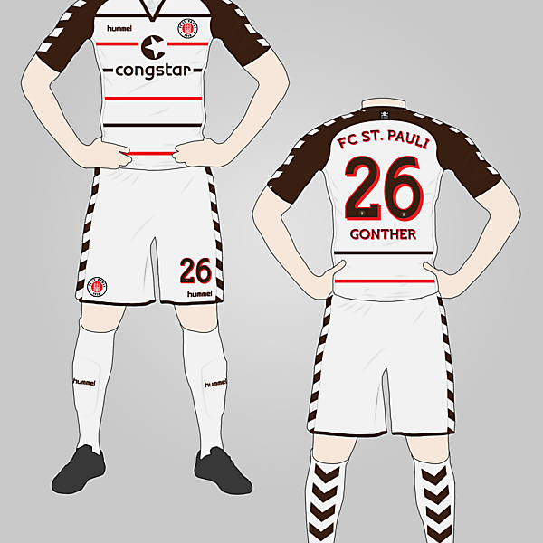 FC St. Pauli Away Kit