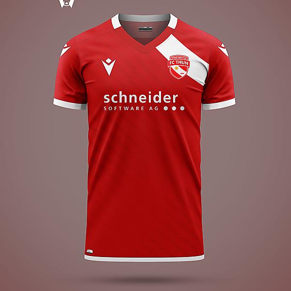 FC Thun - home shirt