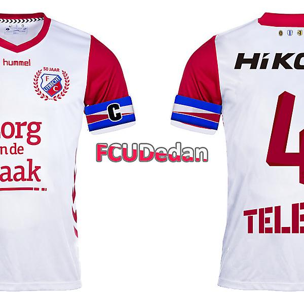 FC Utrecht 50Y Anniversary Concept Shirt Kit