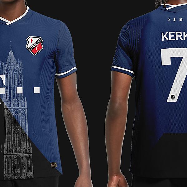 FC Utrecht Away Kit 2021/22 Concept