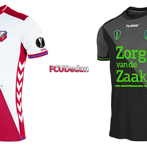 FC Utrecht Home/Away Fantasy Design Shirt Kit
