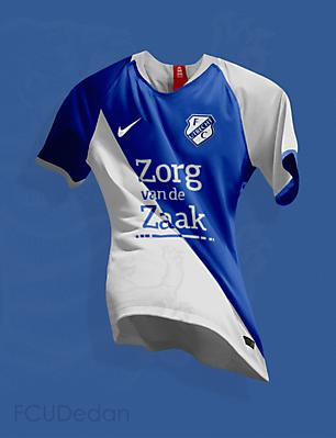 FC Utrecht Nike Fantasy Away Kit