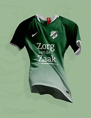 FC Utrecht Nike Fantasy Third Kit
