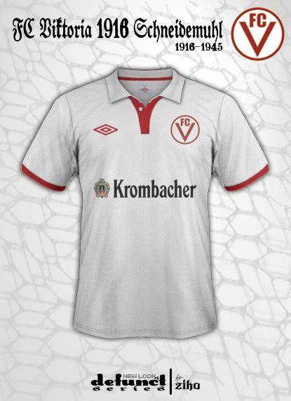 FC Viktoria 1916 Schneidemuhl concept [New Look 4 Defunct Series]
