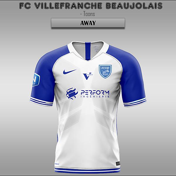 FC Villefranche Beaujolais -- Home/Away/Third