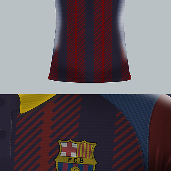 FCB fantasy jersey by J-sports (redo)