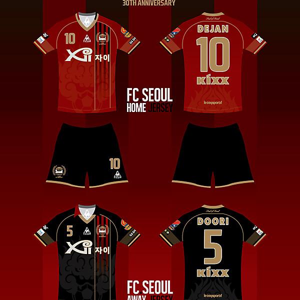 FC.SEOUL 30th anniversary jersey