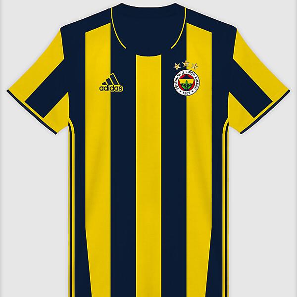 Fenerbahçe 16-17 Home x Adidas