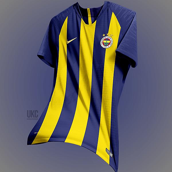 Fenerbahçe 18/19 Nike Kit