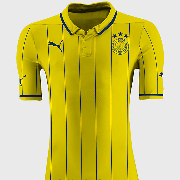 Fenerbahçe Puma Away Kit Design