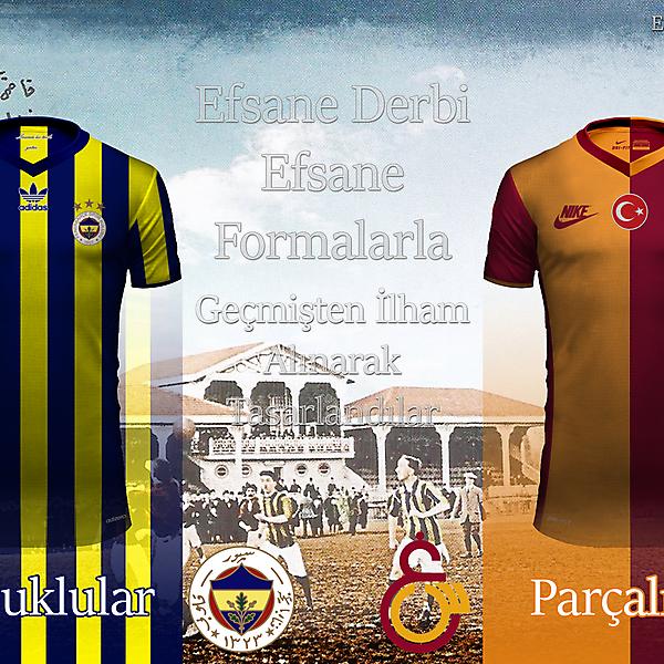 Fenerbahçe SK-Galatasaray SK İstanbul Derby