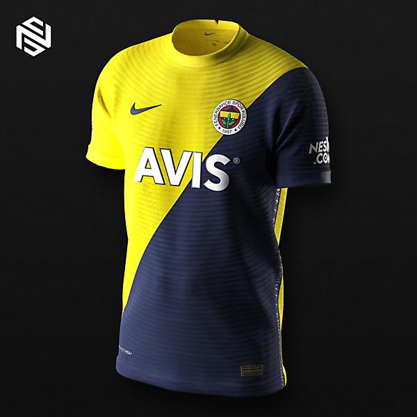 Fenerbahçe SK Home Kit Swap