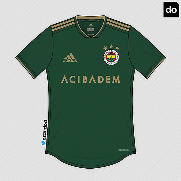 Fenerbahçe x Adidas   Amazon  - Gold