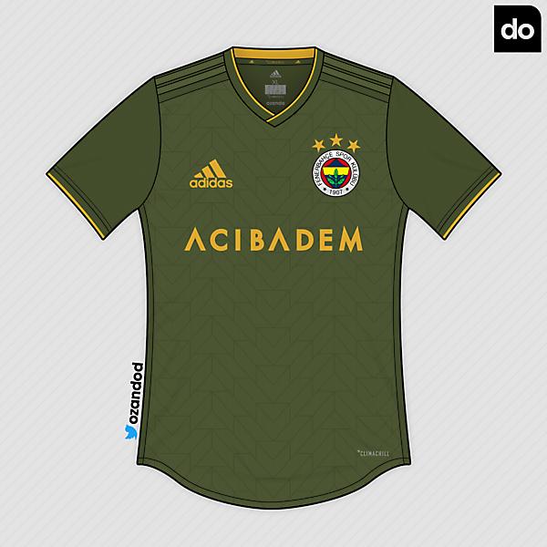Fenerbahçe x Adidas | Avocado - Mustard