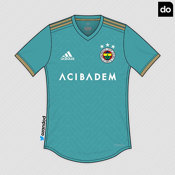 Fenerbahçe x Adidas | Turquoise - Gold