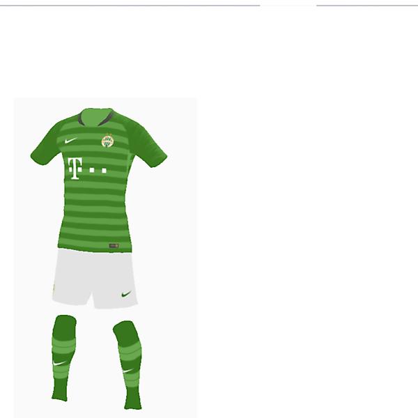 Ferencvaros New Nike kit 19/20