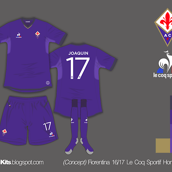Fiorentina 16/17 Home Kit