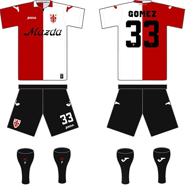 Fiorentina 90-year anniversary (2015/16) kit