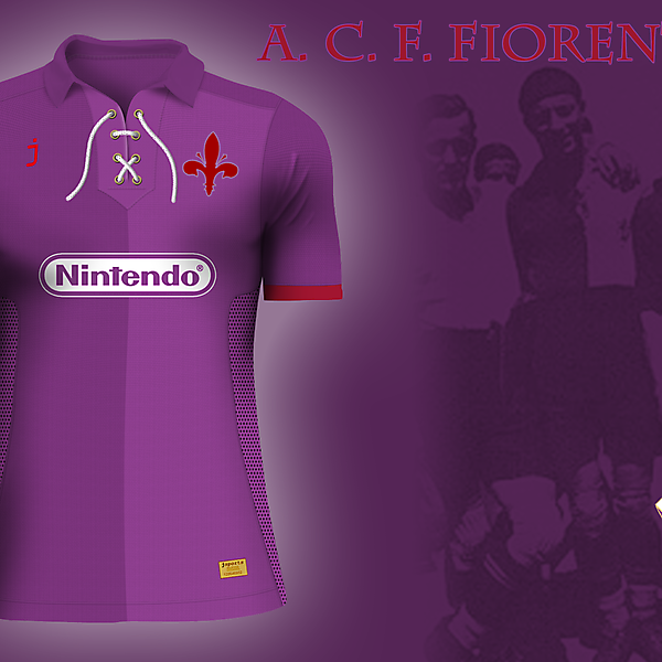 Fiorentina home jersey